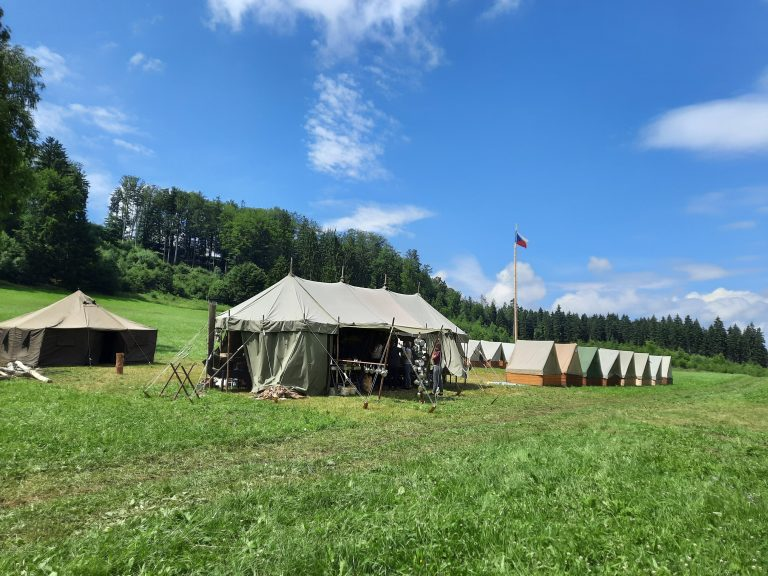 Letní tábor v Bohdašíně